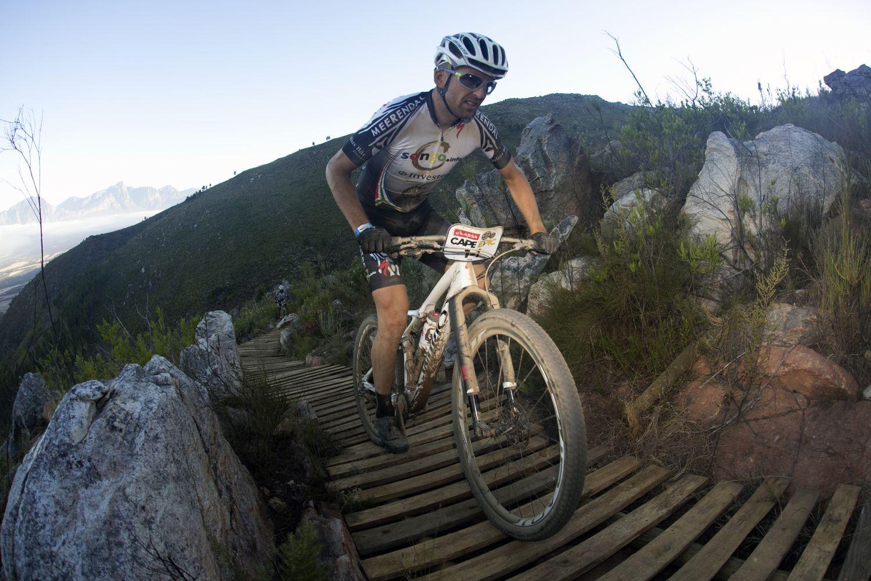 Sauser en la Absa Cape Epic