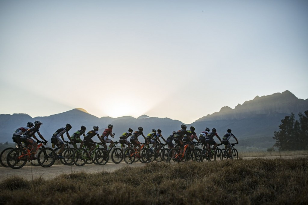 La 4ª etapa eta la más corta de la carrera. Pero el preludio de la etapa reina que se celebra hoy. Foto Nick Muzik/Cape Epic/SPORTZPICS