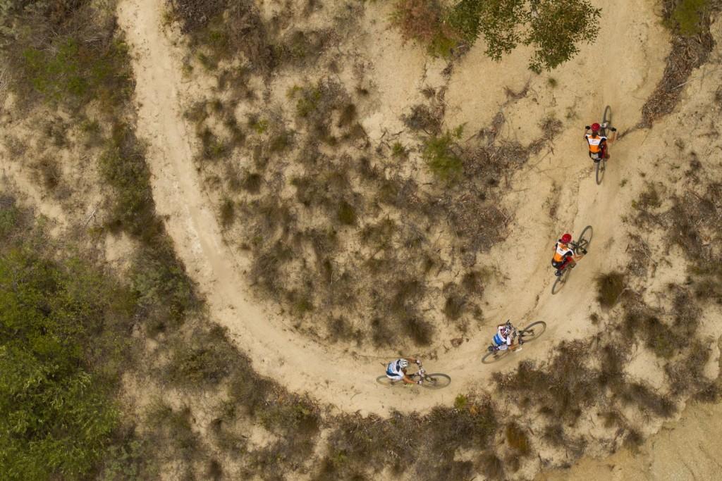 Langvad y Kleinhans van camino de otro triunfo. Foto Gary Perkin/Cape Epic/SPORTZPICS