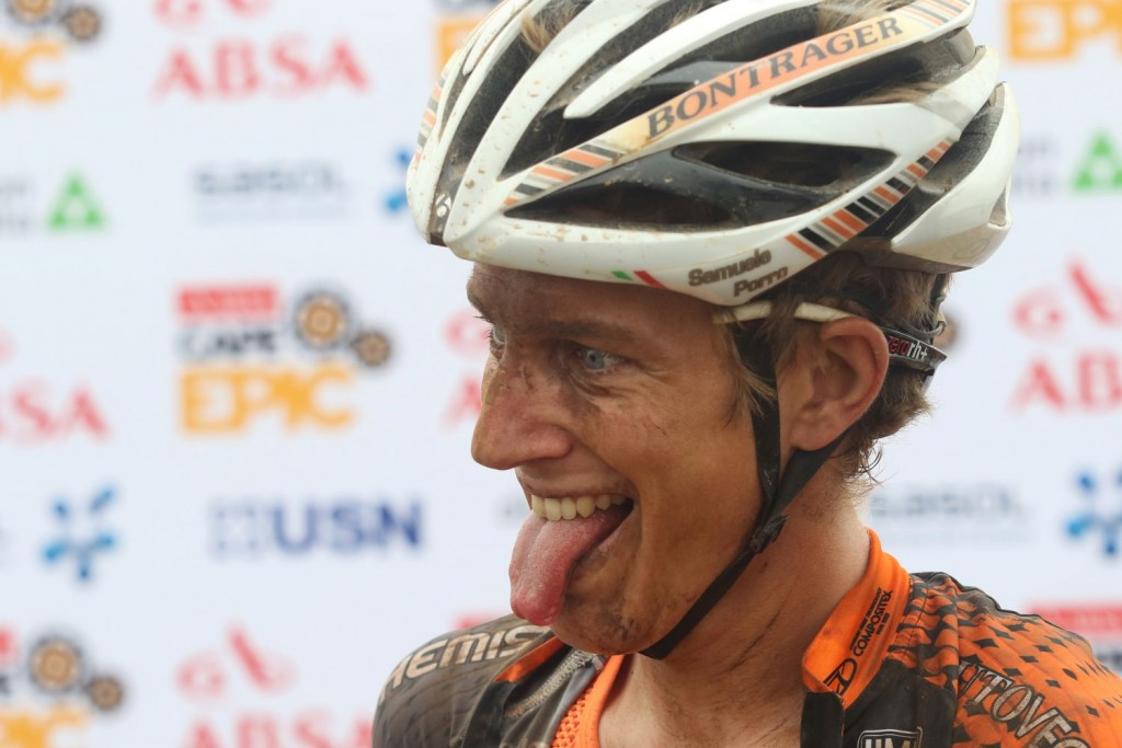Samuele Porro ha saltado a la fama internacional en apenas 2 años, logrando enormes resultados en bike-maraton. Foto Shaun Roy/Cape Epic/SPORTZPICS