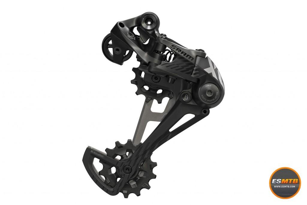 La versión en negro del Sram X01 Eagle