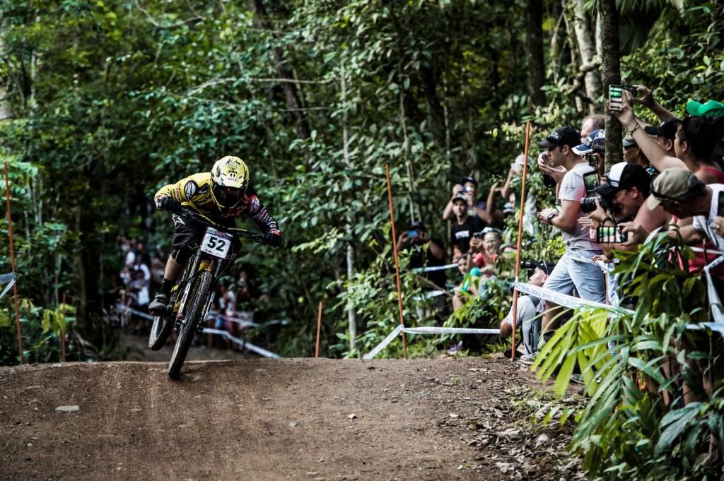 Mick Hannah ha vuelto a su mejor versión. 3º en Cairns está rodando como nunca. Foto Bartek Wolinski/Red Bull