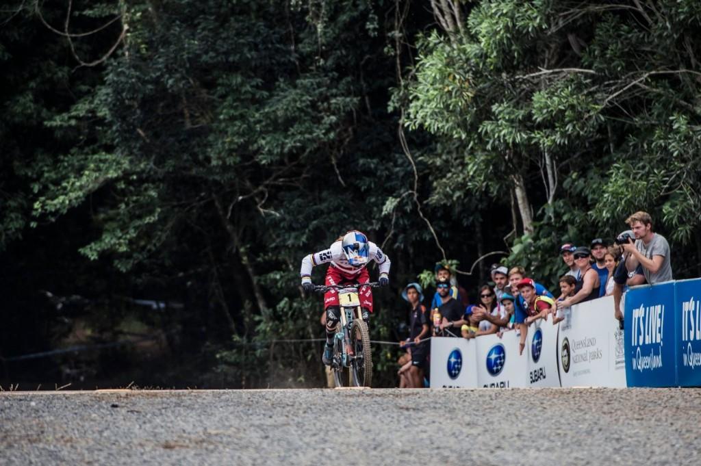 La parte final del circuito de Cairns obligaba a los riders a pedalear como locos. Algo a lo que muchos no están acostumbrados. Foto Bartek Wolinski/Red Bull