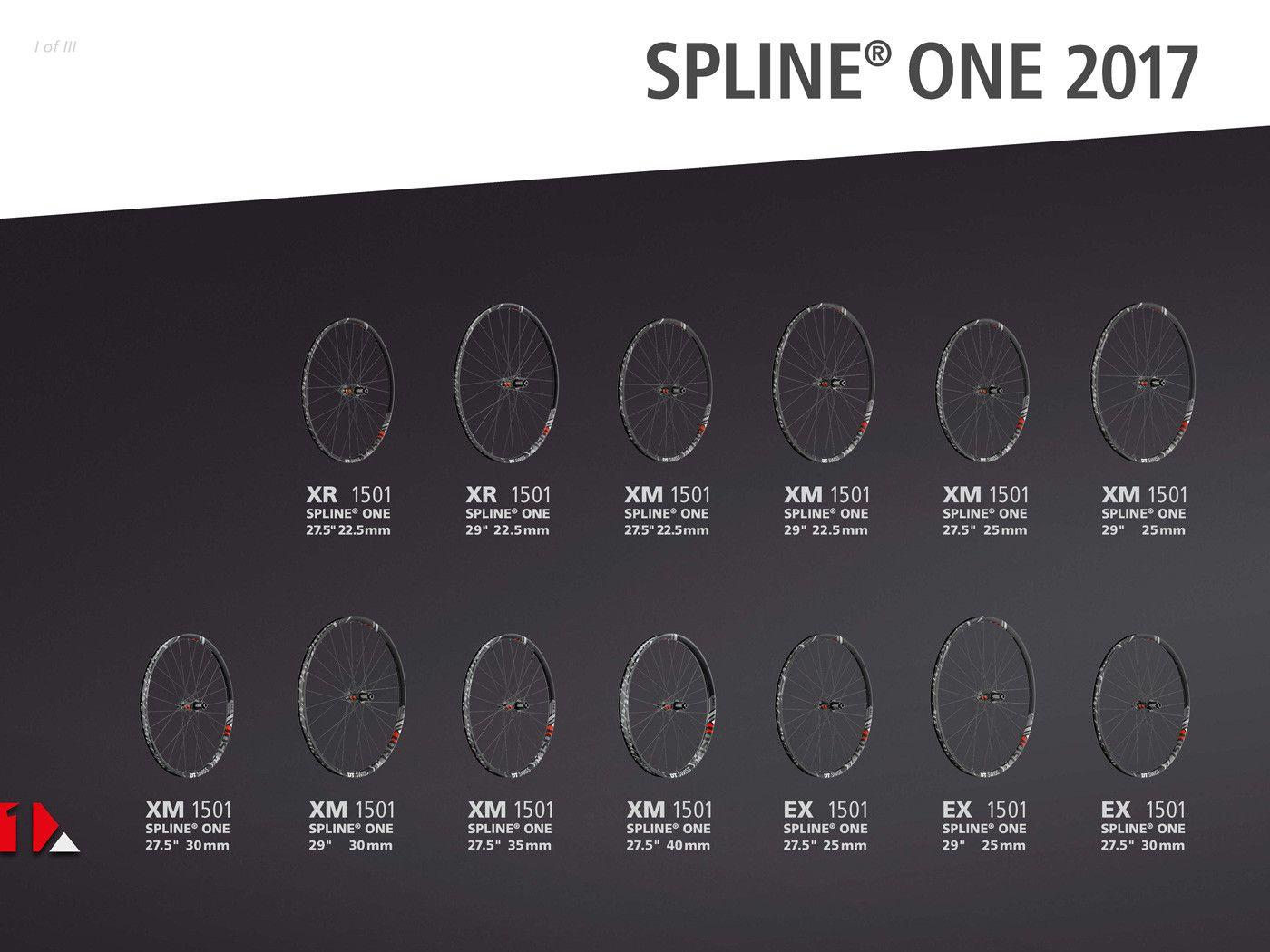 Gama completa de ruedas DT-Swiss Spline One