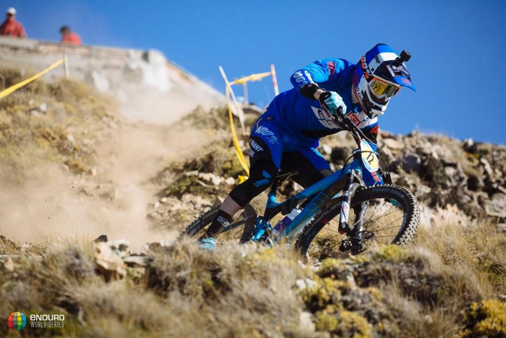 Josh Carlson está siendo otro de los riders más regulares. Foto Duncan Philpott