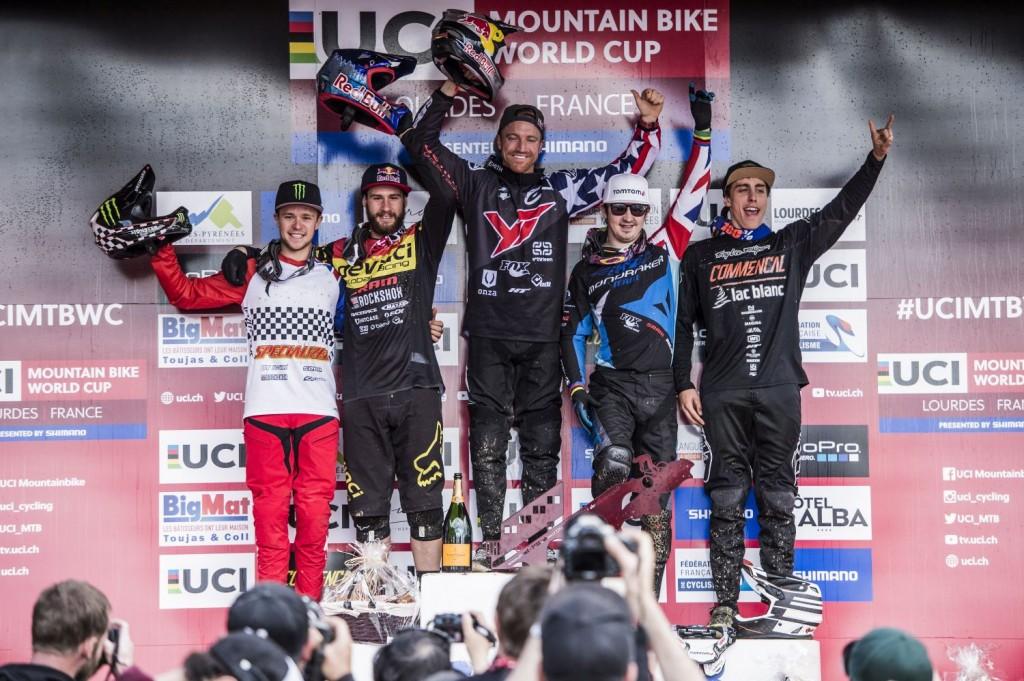 Y los 5 riders más rápidos de Lourdes.