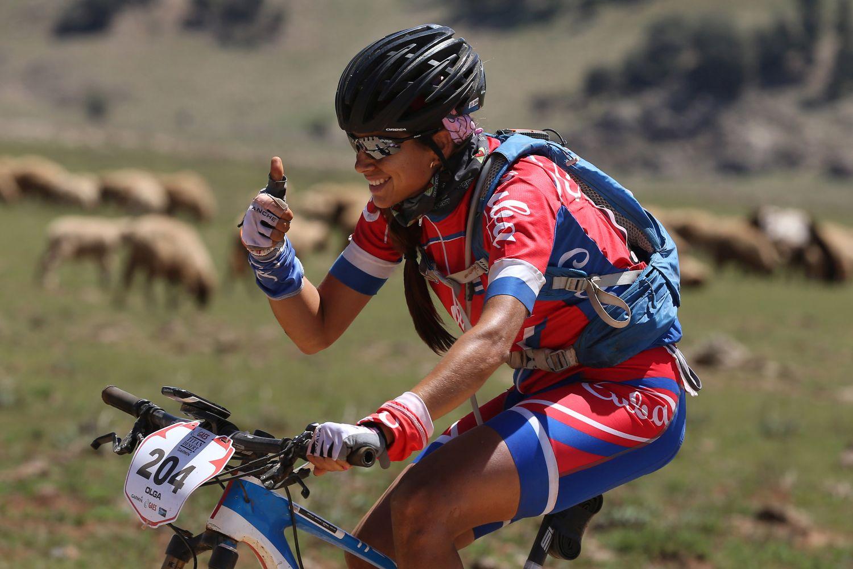Gran final para Olga Echenique en Titan Desert de mountain bike