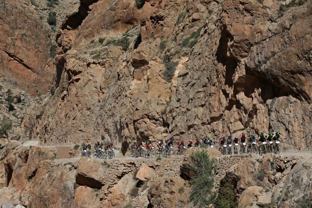 La ascensión más dura del día que ha llevado a los bikers a más de 2.200 metros de altitud