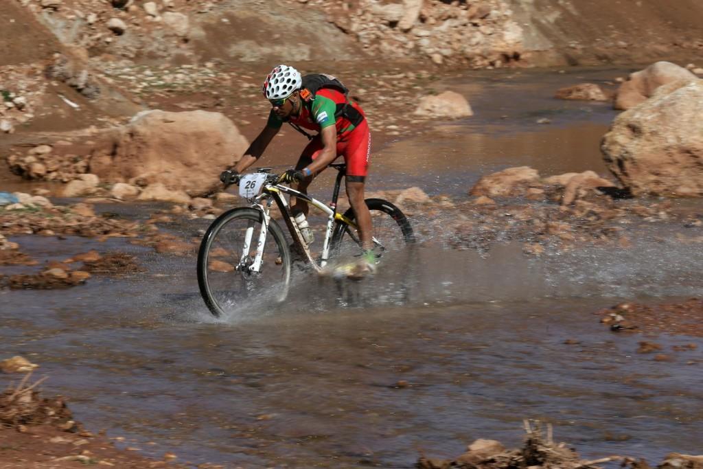 El Ayoubi Said, uno de los bikers locales.