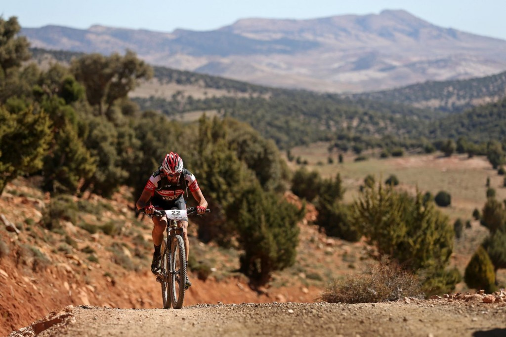 El paisaje de la zona de Ifrane ha servido para dar un golpe de aire fresco a los recorridos habituales de la Titan Desert