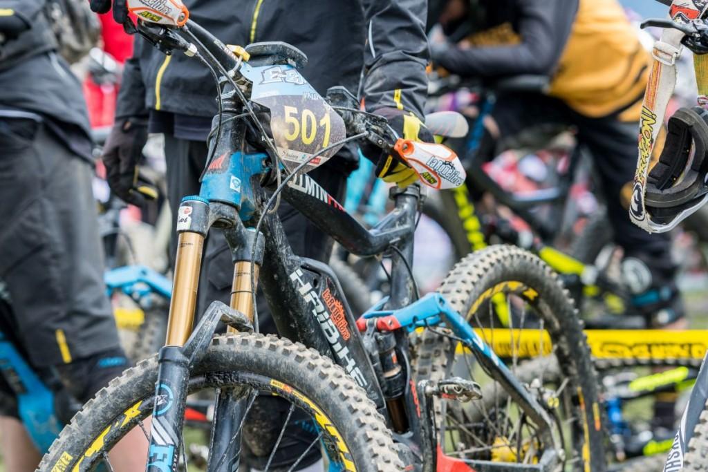E-Bikes en la Maxiavalanche