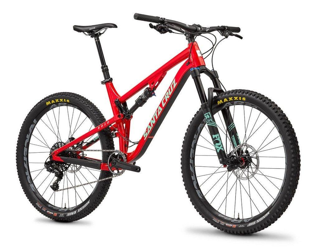 Rojo para la versión aluminio de la Santa Cruz 5010