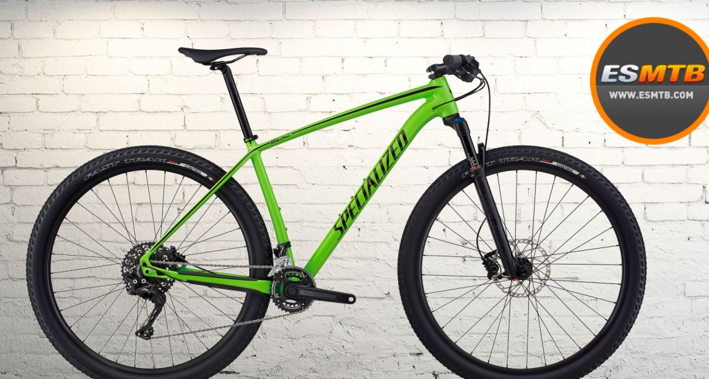 Specialized Epic Hardtail, en aluminio