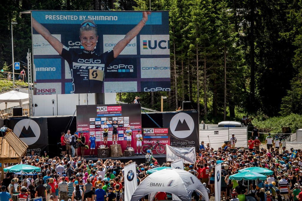 Pero la estrella de la prueba femenino fue Jenny Rissveds. La sueca, aún sub-23, ganó la prueba elite. Su primera victoria absoluta. Lo hizo fiel al que se está mostrando su estilo. Competir de menos a más.