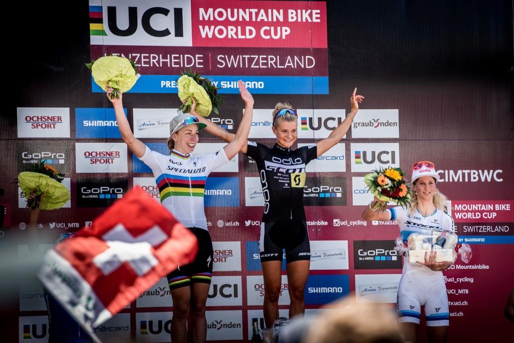Rissveds superó a Neff y a la recientemente proclamada campeona del Mundo Annika Langavad