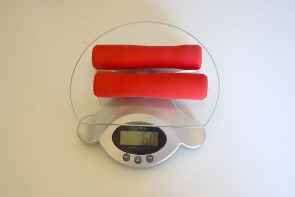 Peso puños silicona Esi Grip Fit XC