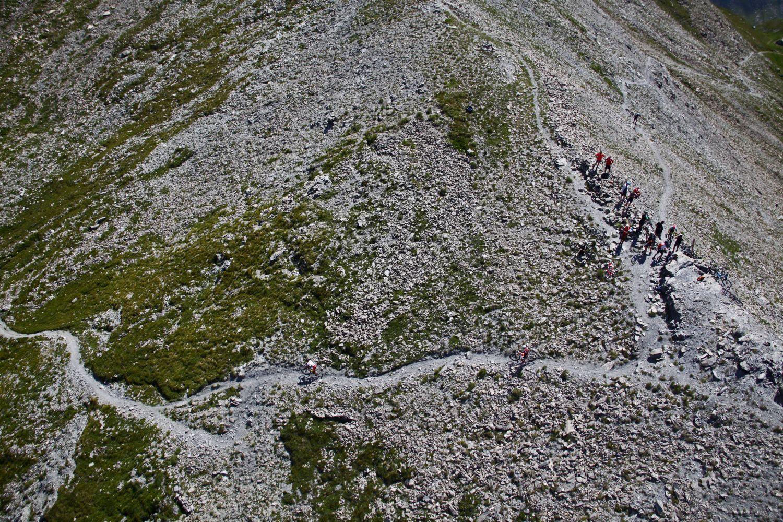 Pasos de montaña que dejan huella.