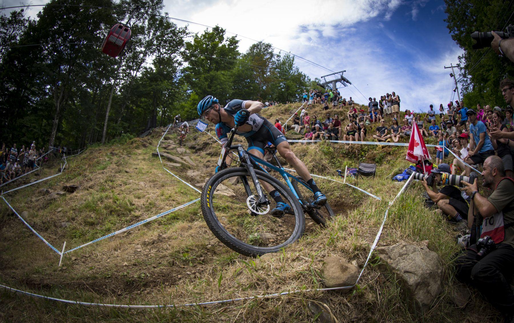 La trialera que volvía a concentrar la atención de bikers y espectadores