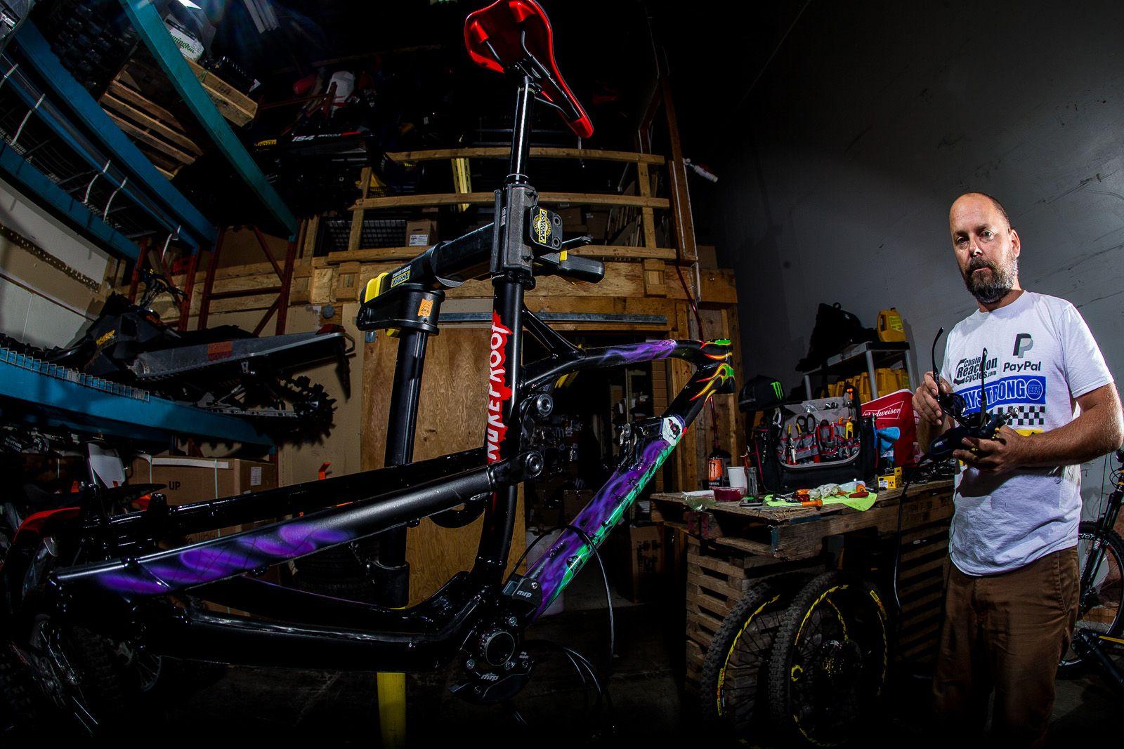 La bicicleta más guapa que ha tenido jamás según el propio Sam Hill