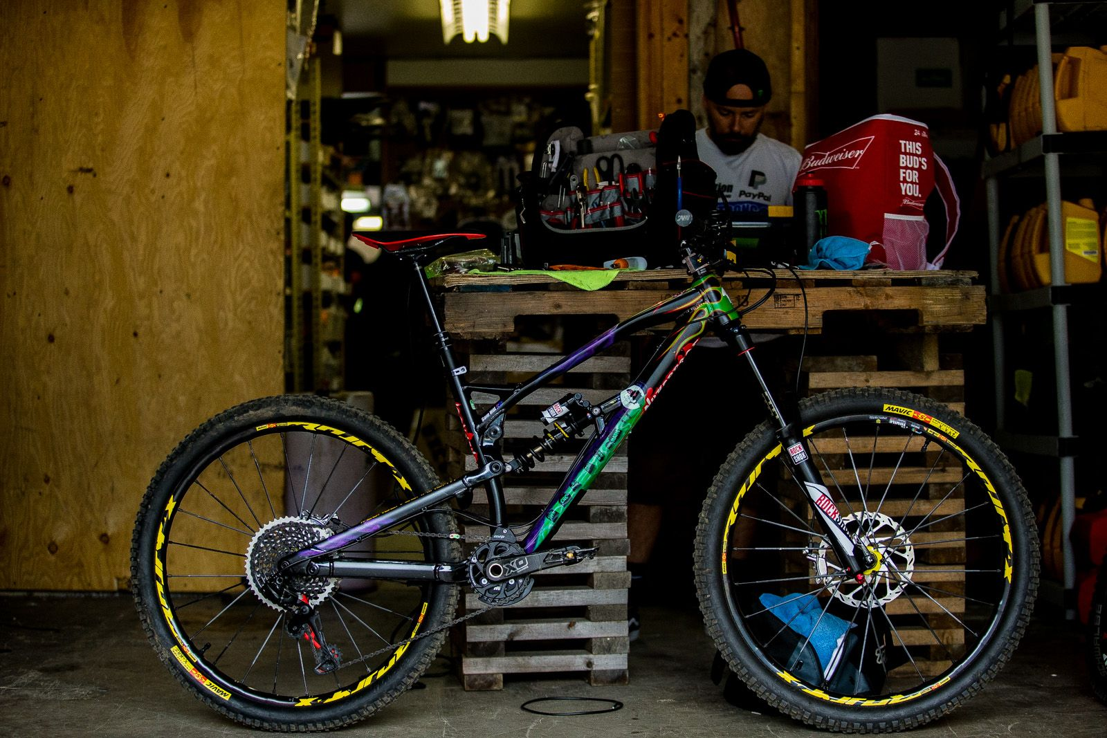 Así luce la espectacular Nukeproof para las Enduro World Series