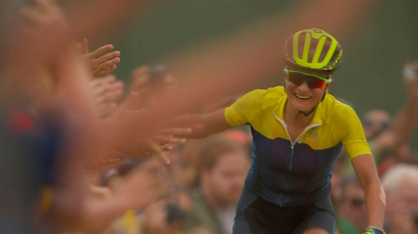 Jenny Rissveds nueva campeona olímpica y dominando la carrera con fuerza y cabeza