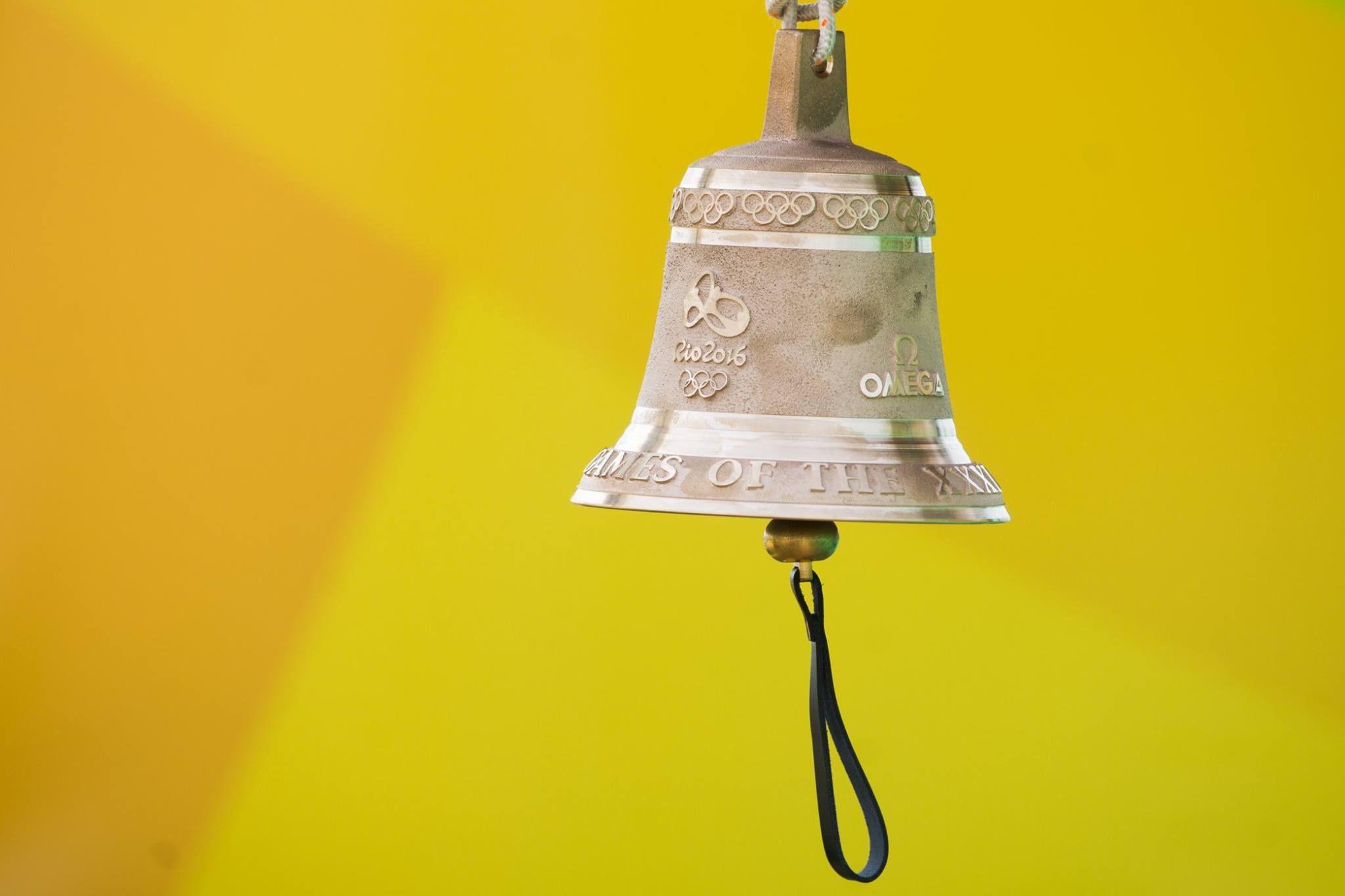 La campana que marcará la última vuelta