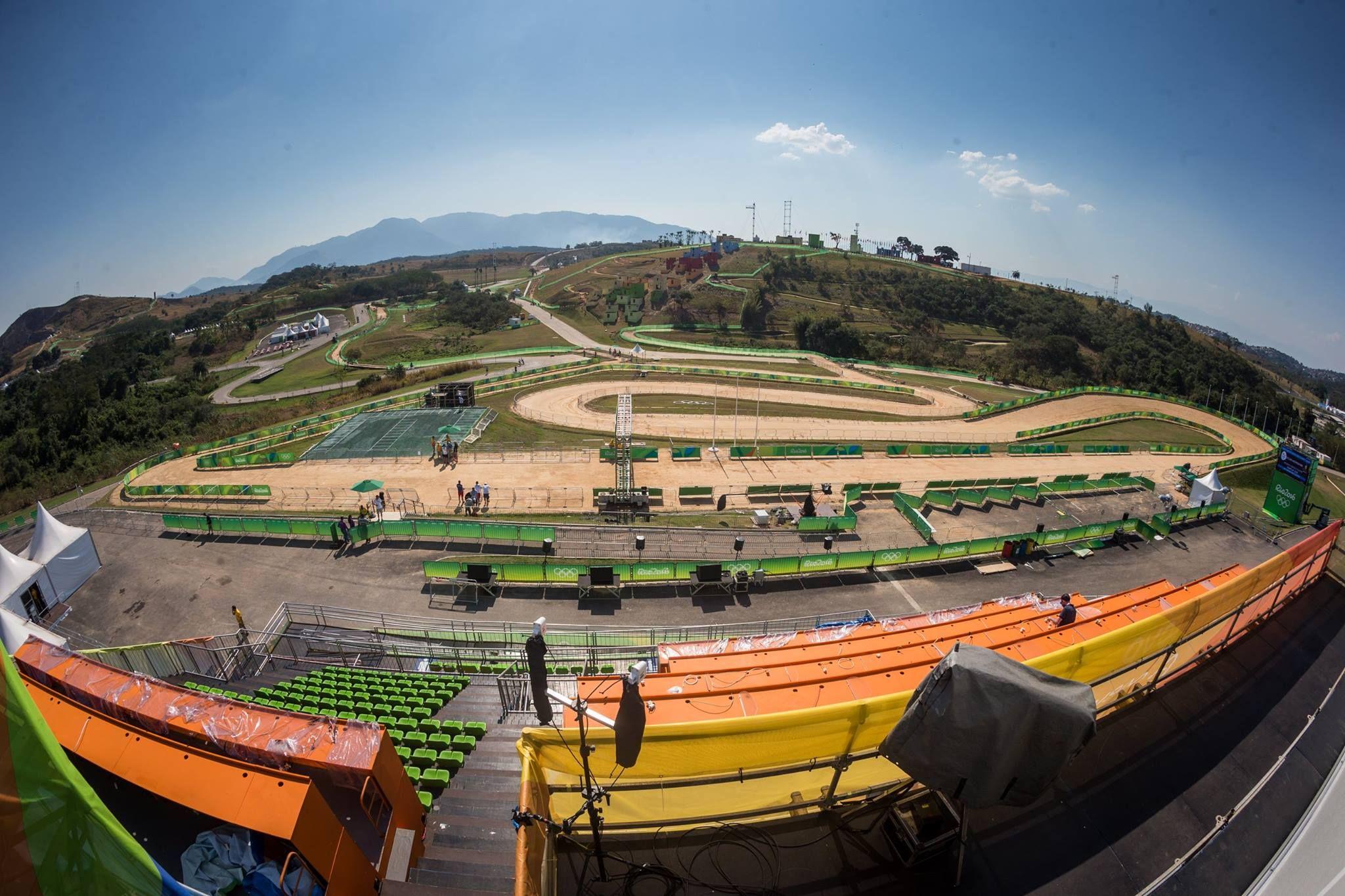 Rápido, estrecho, seco... es el circuito olímpico