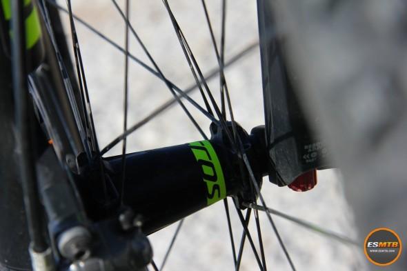 Bujes de las ruedas Syncros