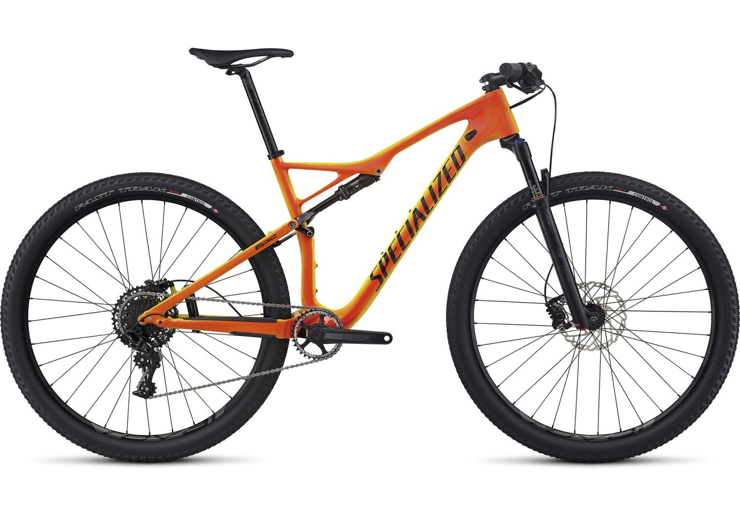 Specialized MOMO ORANGE Epic FSR Comp Carbon World Cup - Torch Edition