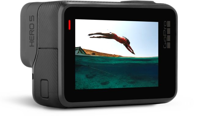 GoPro Hero 5 Black con pantalla táctil trasera