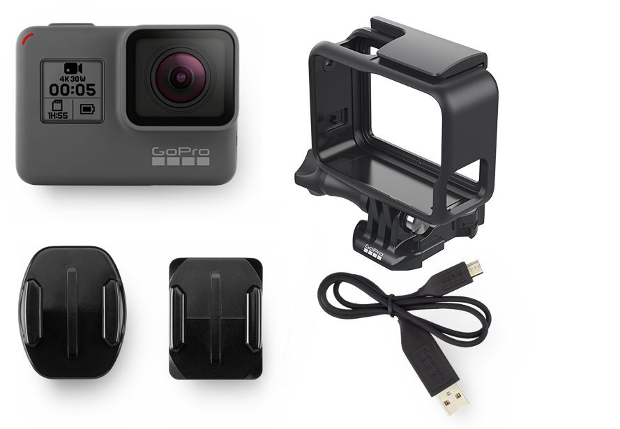 Pack GoPro Hero 5 Black