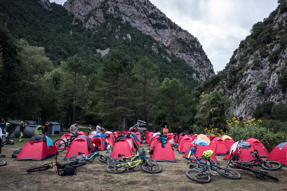 Un campamento de la Trans-Nomad powered by Fox