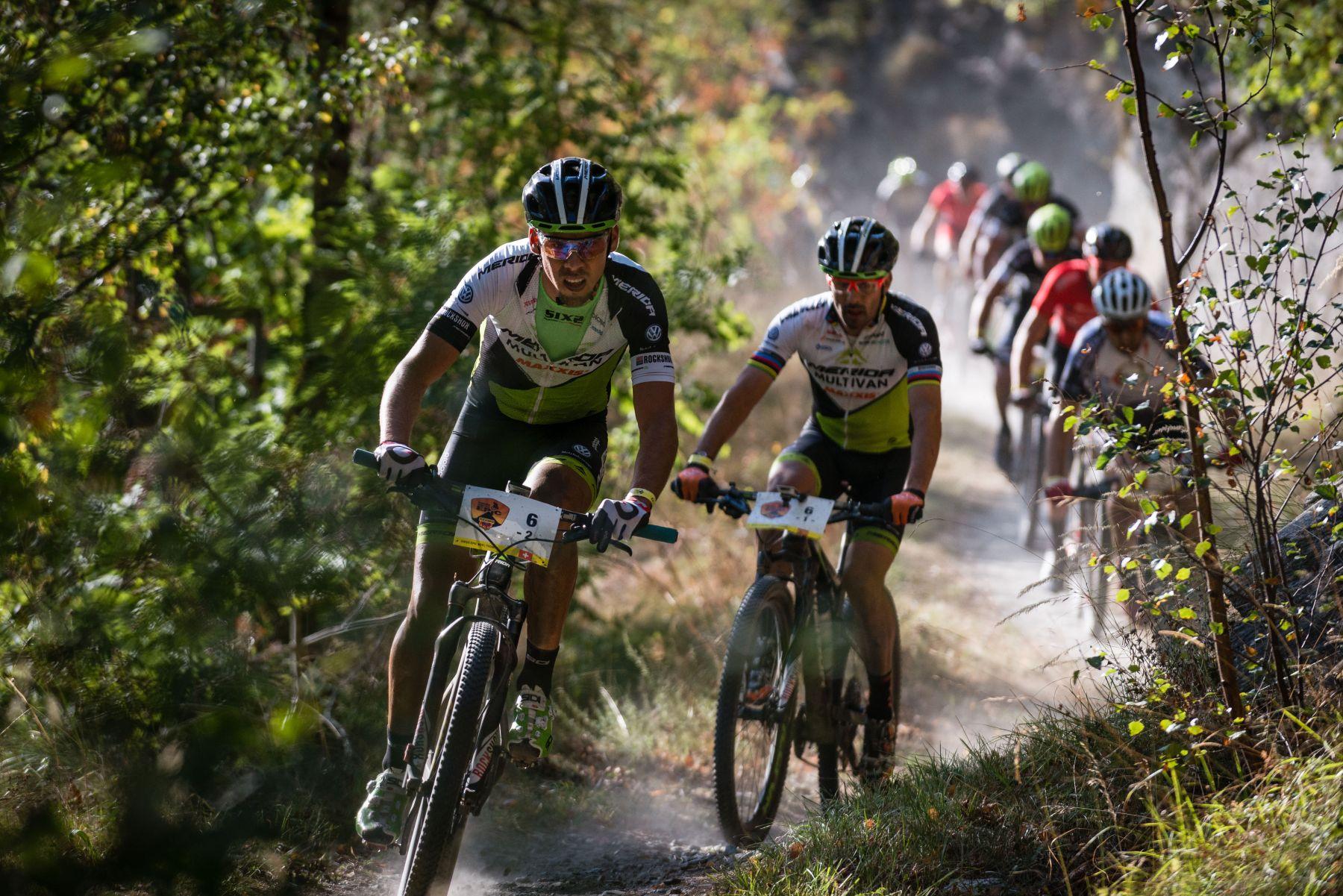Hermida y Litscher han sido 9º en esta jornada en la que el suizo ha sufrido en la última parte de la etapa.