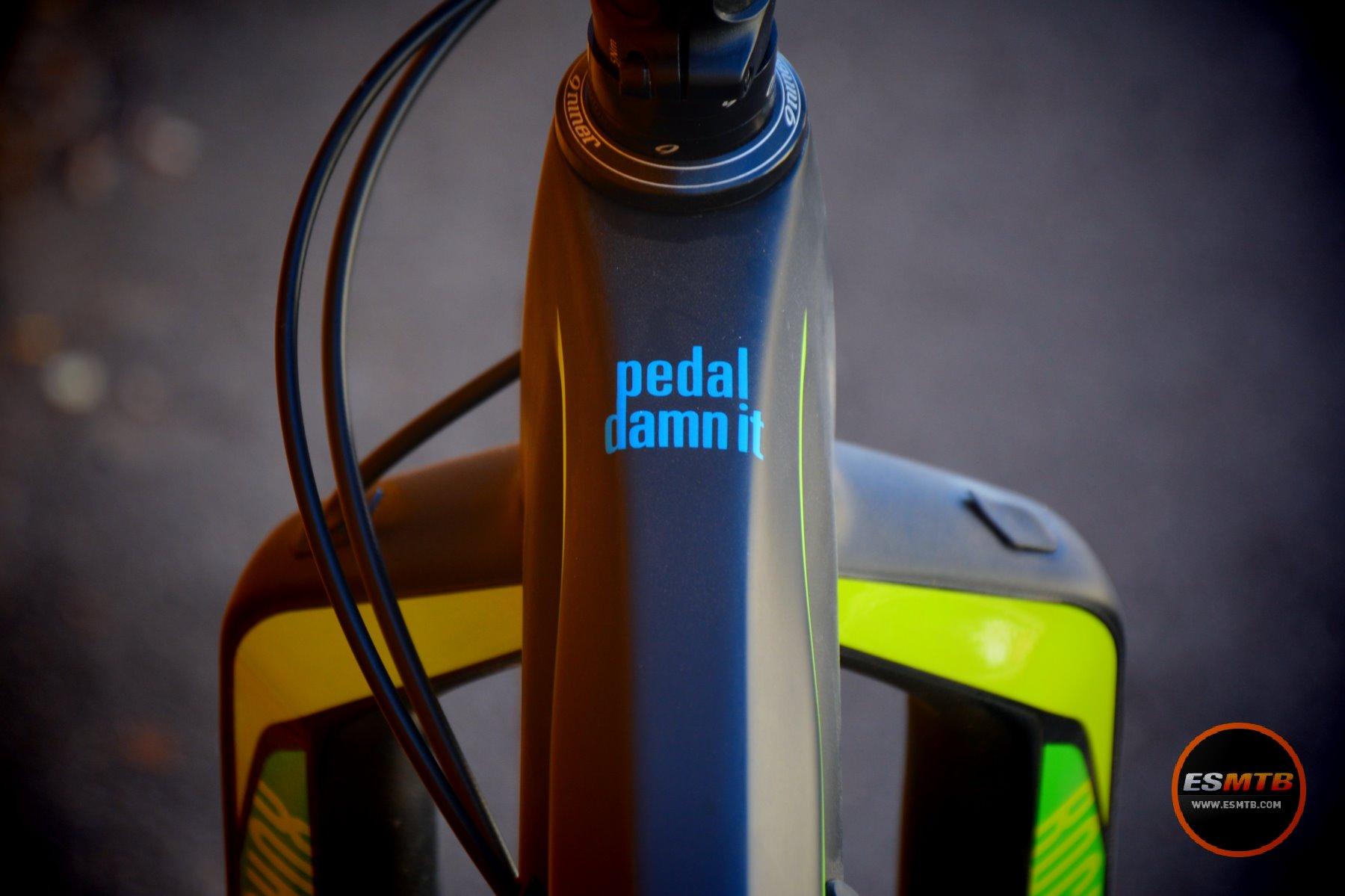 """No podía falta el """"Pedal damm it"""""""