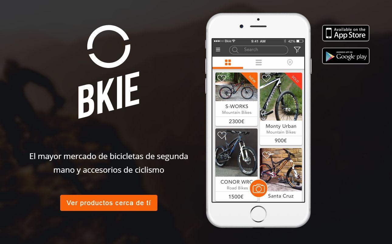 Bkie, compra venta de material de ciclismo de segunda mano