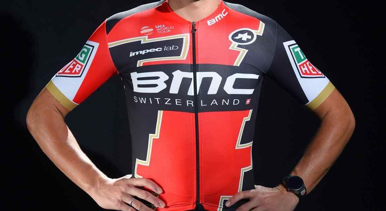 BMC Racing Team 2017 y su nuevo maillot, en versión del campeón olímpico de carretera