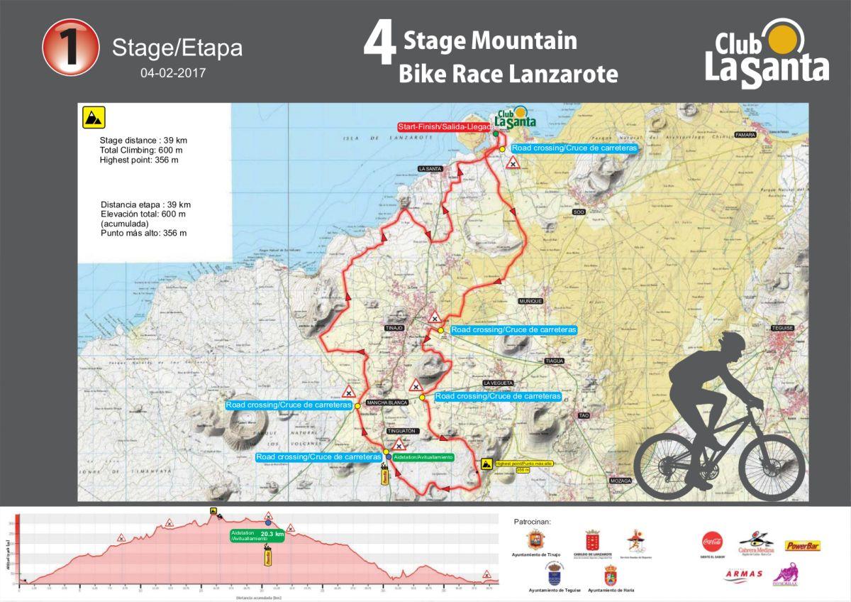 Etapa 1 de la 4 Stage MTB Lanzarote