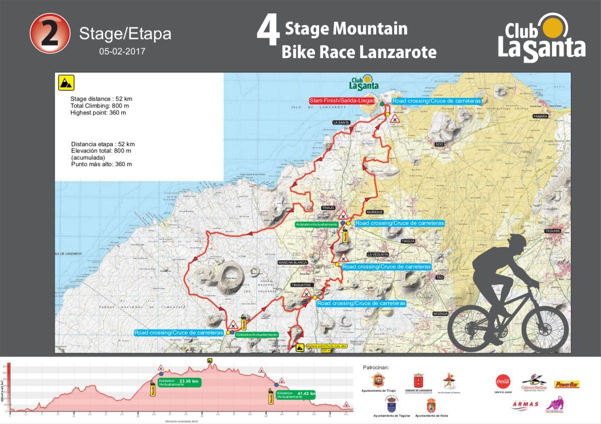 Etapa 2 de la 4 Stage MTB Lanzarote