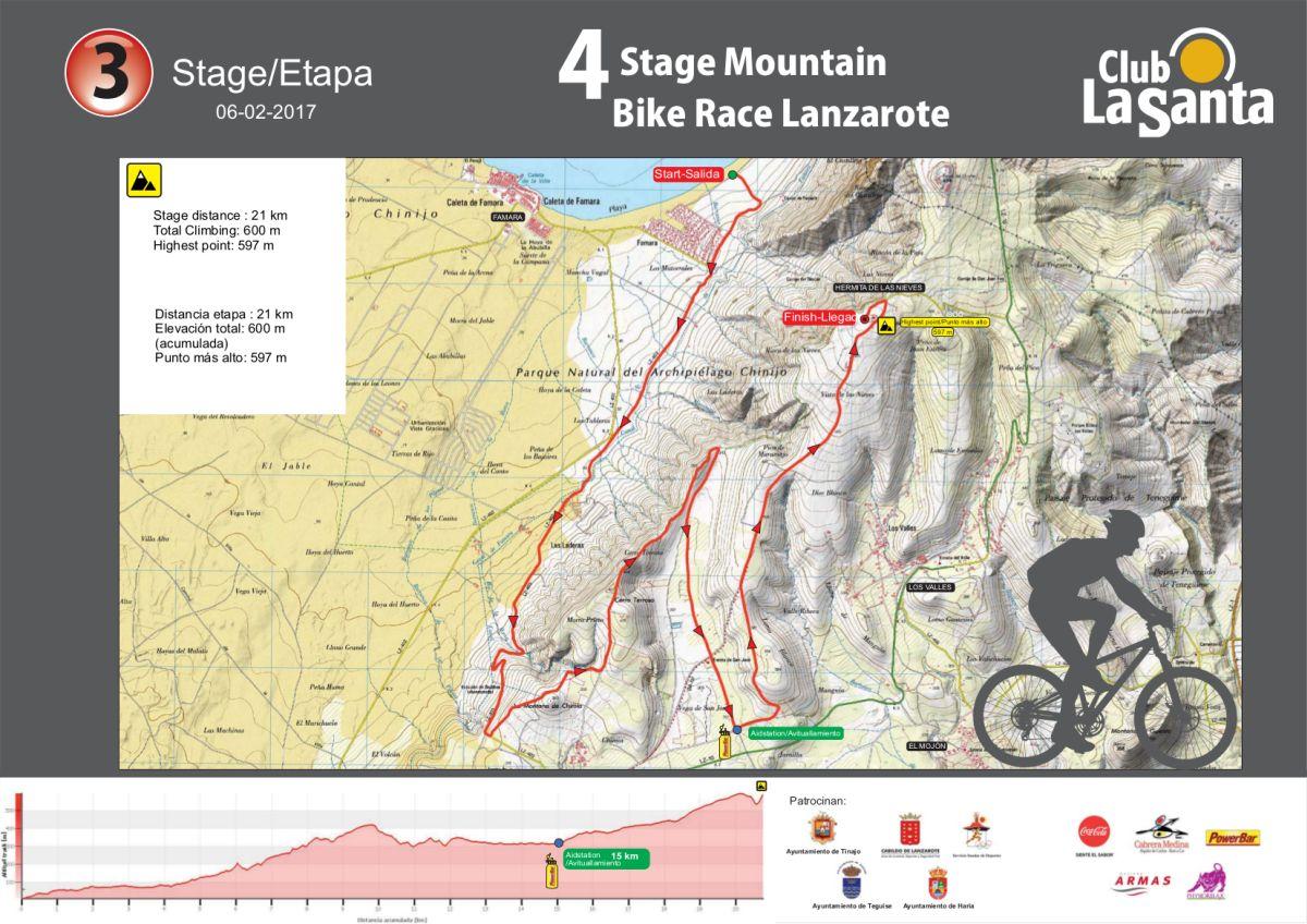 Etapa 3 de la 4 Stage MTB Lanzarote
