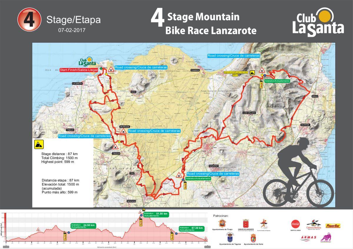 Etapa 4 de la 4 Stage MTB Lanzarote
