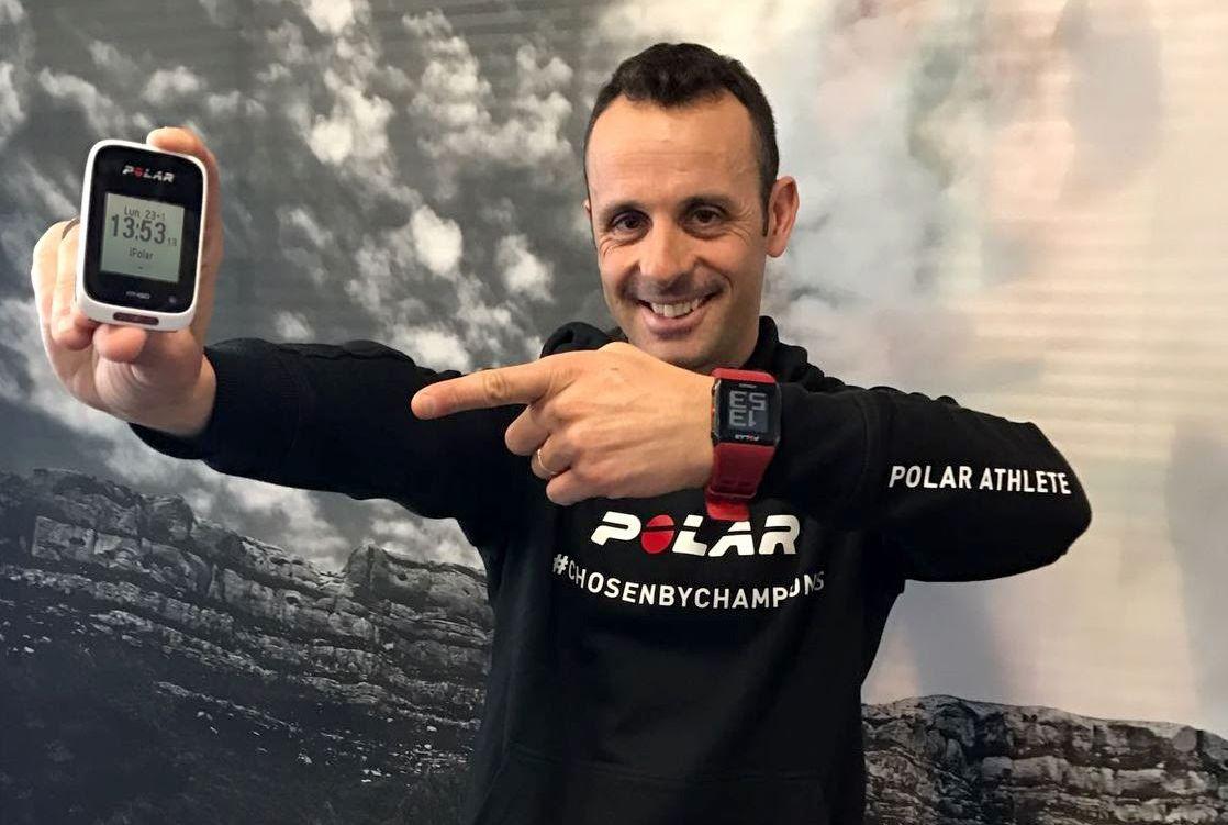 Jose Antonio Hermida con Polar