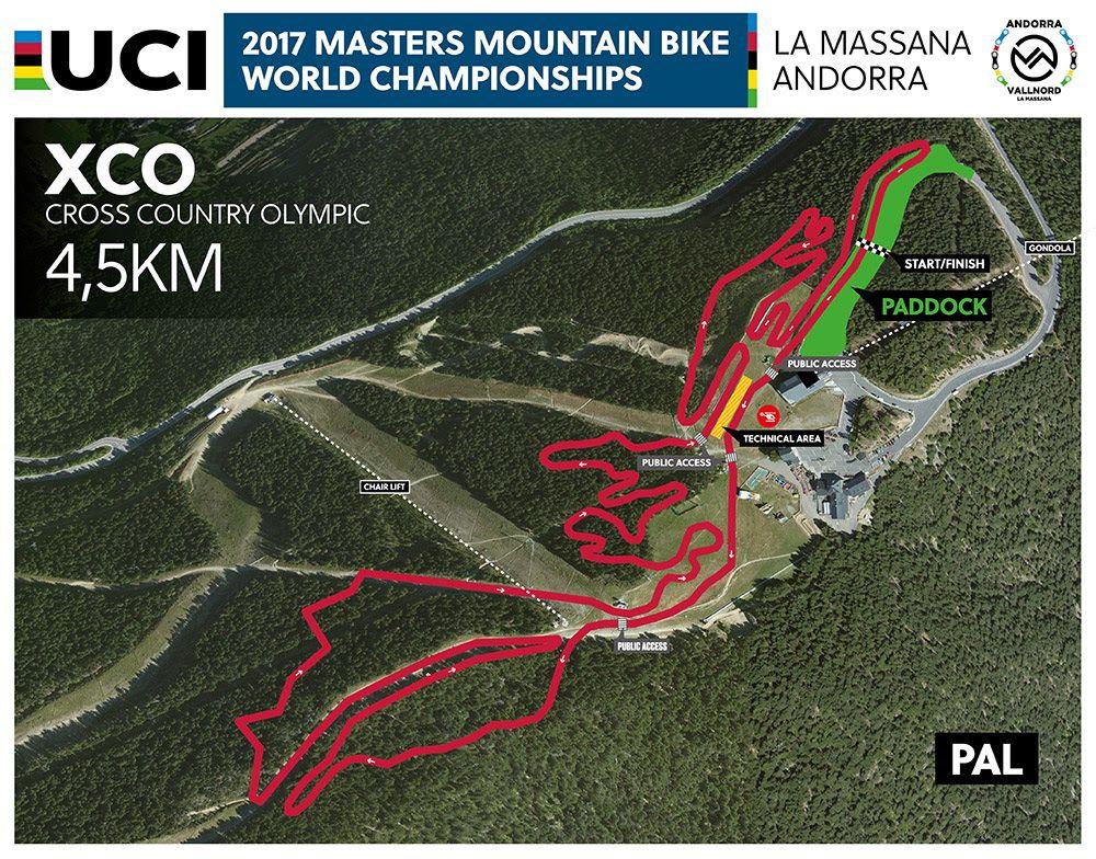 Circuito Xco Moralzarzal : Programa de los mundiales máster en vallnord bike park la