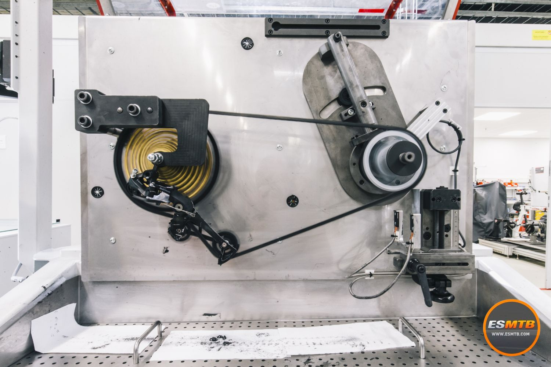 Máquinas de test para todos los componentes de la transmisión