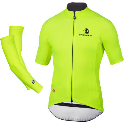Maillot y manguitos Etxeondo Team Edition Windstopper