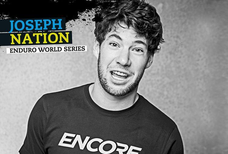 Joseph Nation, de Nueva Zelanda. Objetivo, el top-10 de la Enduro World Series