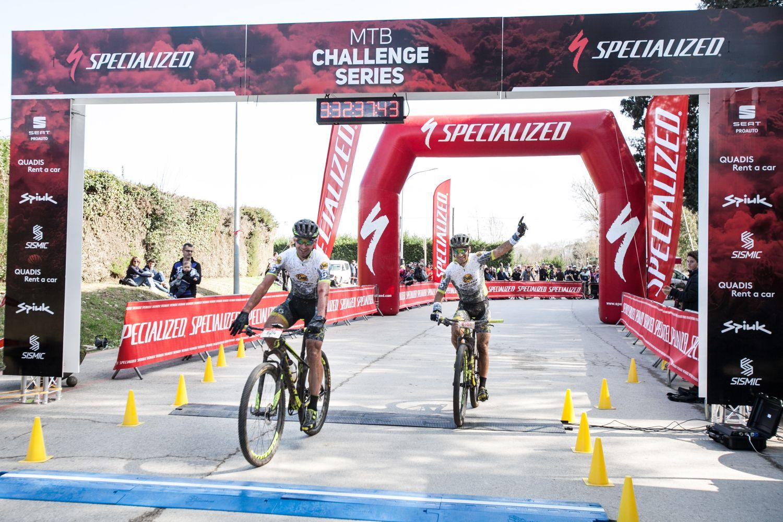 Joan Llordella e Ismael Ventura han dominado la carrera para el Buff Scott