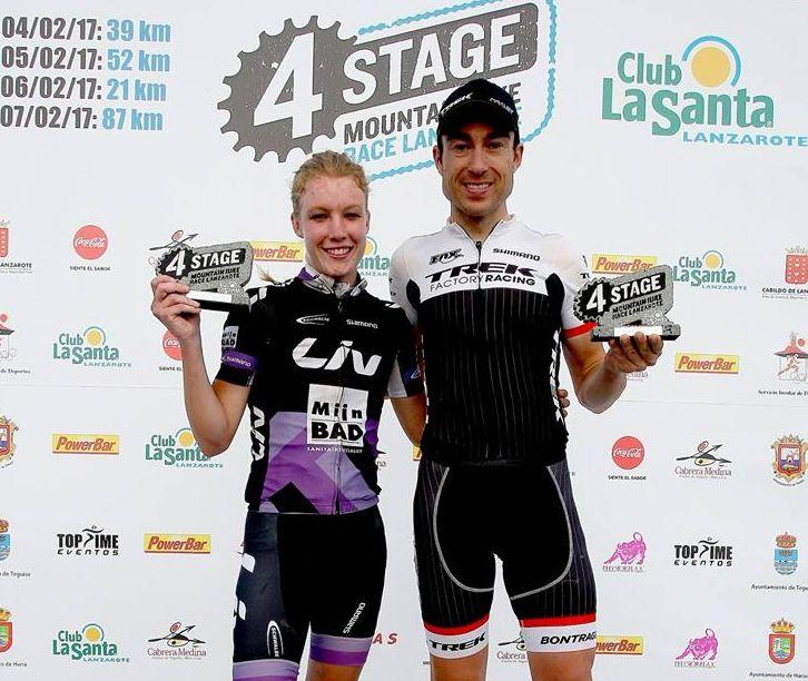 Los ganadores de todas las etapas de la 4 Stage Mountain Bike Race hasta ahora