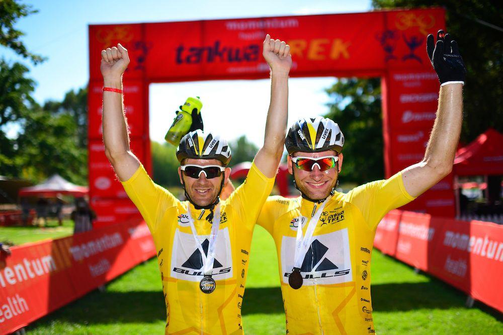 Platt y Huber, 3 de 3 en las etapas de este año