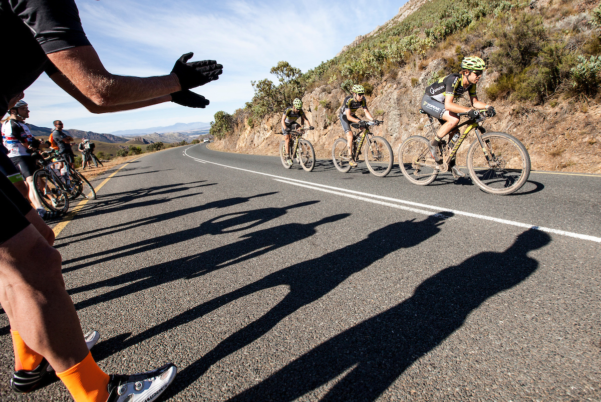 Un largo puerto de carretera ha sido el último escollo para los bikers.