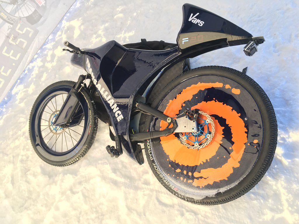 La bici de Eric Barone